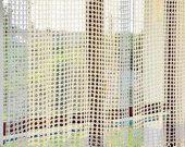 Items similar to Curtain Crocheted curtain Crochet curtain on Etsy