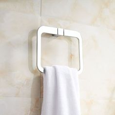 fashion style stainless steel bathroom towel holder towel ring bathroom accessories icon2 luxury designer fixures