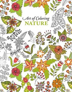 Introducing Art Of Coloring Nature Leisure Arts 6903 Buy Your Books Here And Follow Us