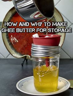 How And Why To Make Ghee Butter