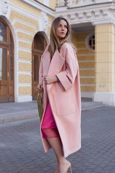 Модное пальто «кокон» 2016-2017: фото, с чем носить пальто в форме кокона