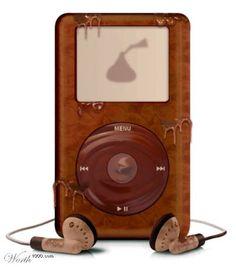 yumm yumm chocolate ipod - this is just plain cool!