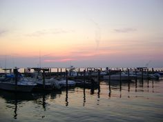 Sunset at Ocean Beach, Fire Island, NY