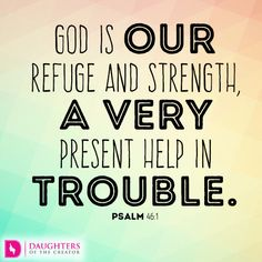 """He's a Present Help ~ God is our refuge and strength, a very present help in trouble. - Psalm 46:1 ~ Over the last few years of my life, I've been tremendously stretched in my faith in God. There are times when I wondered if He's going to come through for me. I've prayed the prayers of """"I've done all that I know to do…amen."""" And then I wait. [...]"""
