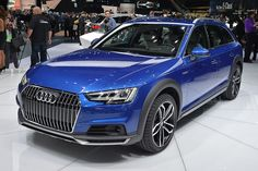 #Audi #A4 Allroad Quattro brings rugged body to Detroit