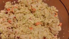 Chinakohl-Karotten-Apfelsalat