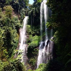 Sekumpul Waterfall in Sawan, Bali