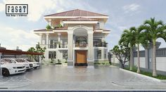"""Check out my @Behance project: """"Villa in Phnom Penh St.604"""" https://www.behance.net/gallery/45434397/Villa-in-Phnom-Penh-St604"""