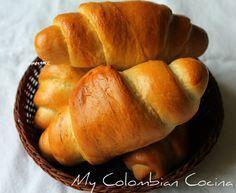 Pan Rollo -Soft Bread Rolls Colombia, cocina, receta, recipe, colombian, comida.