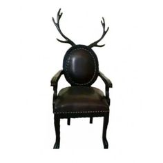 Find Cheap Designer Furniture Now Reindeer Antlers, Cheap Designer, Armchair, Furniture Design, Design Inspiration, Black Leather, Stylish, Home Decor, Sofa Chair