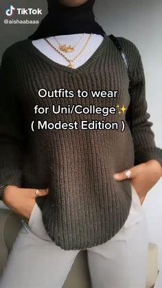 Modern Hijab Fashion, Street Hijab Fashion, Modesty Fashion, Hijab Fashion Inspiration, Muslim Fashion, Mode Inspiration, Diy Fashion, Modest Outfits, Cute Casual Outfits