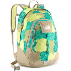 School bags - The North Face Backpack, Vault North Face Girls, The North Face, North Faces, My Bags, Purses And Bags, Barrel Saddle, Beauty And Fashion, Mk Handbags, Cute Backpacks