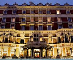Shelborne Hotel, Dublin ~ we stayed in the Princess Grace Suite