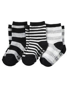 Baby Boy 3-Pack Socks | Carters.com