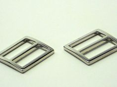#DIY PURSE MAKERS! SALE just $2.99! 2pcs of Silver 1 Inch Purse Slides 2 One Inch by MeiMeiSupplies Etsy USA