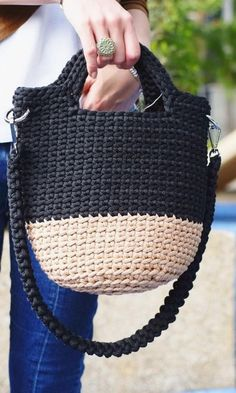 Free Crochet Bag Patterns, You can make fabulous bags in 3 days New 2019 - Page 4 of 36 - stunnerwoman. com Free Crochet Bag Patterns, You can make fabulous bags in 3 days New 2019 - Page 4 of 36 - stunnerwoman. Free Crochet Bag, Crochet Market Bag, Crotchet Bags, Knitted Bags, Crochet Tote Bags, Knit Bag, Crochet Handbags, Crochet Purses, Bag Pattern Free