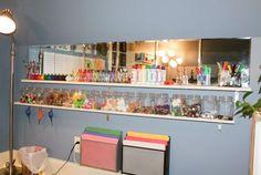 BEAUTIFUL children's storage areas!!!