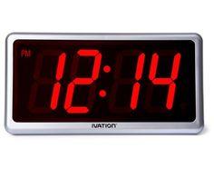 Red Wall Clocks: Modern Wall Clocks - Top-clocks.com