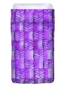 Weaving Duvet Cover featuring the photograph Weaving Flax - Lilac Haze by Wairua o te Moana Kiwiana, Moana, Colorful Backgrounds, Fine Art America, Hand Sewing, Lilac, Duvet Covers, Twin, Weaving