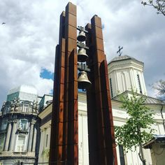 Bucharest: Shouldn't the #bells be already on the way to #rome ? No matter, they are beautiful to look at Saint Demetrius Church Bucharest, Rome, Saints, That Look, Beautiful, Rum, Rome Italy