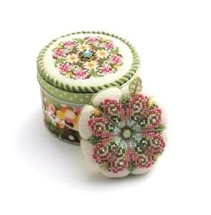 Designer - Just Nan  Design Name - Grow! Tin & Pincushion