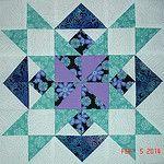 My Variation Star Pattern - Feb 5, 2014 by Happy 2 Sew