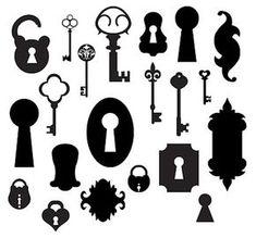 Clé, cadenas, serrure ~ KLDezign les SVG
