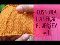 "Unir tejidos: costura invisible ""vertical"" #4 en punto jersey (dos agujas) (remallado) - YouTube"