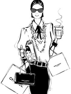 Fashionality - Fashion Illustrations