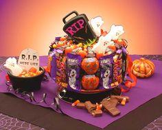 halloween cakes | Halloween Gifts Halloween Cake 300x242 Elegant Halloween Wedding Cakes