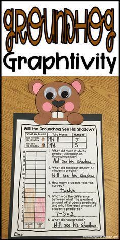 Groundhog Graphtivity: Will the groundhog see his/her shadow?