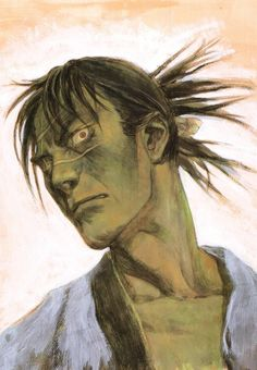 Hiroaki Samura, Blade of the Immortal, BotI Illustration Collection, Manji