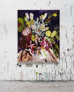 """I made this painting for The Art of Music charity using the song """"In the Air"""" by the DMA's as inspiration. @noroartofmusic…"""