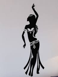 Resultado de imagen para bailarina arabe silueta