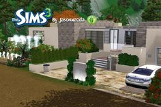 The Sims 3 House Designs - Hillside Hideaway