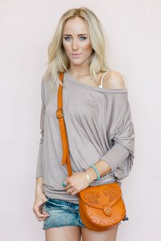 the Perfect Off Shoulder  Top from Gypsy Outfitters