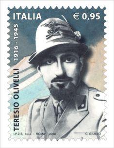 Francobollo commemorativo di Teresio Olivelli, nel centenario della nascita