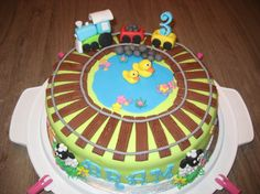 Thomas De Trein Taart Taarten Cakes Pinterest Cake