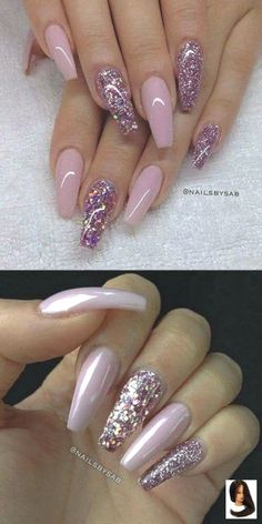 2016 Nail Trends – 101 Pink Nail Art Ideas About this pin; 446 Related posts: NagelDesign Elegant ( 2016 Nail Trends – 101 Pi… ) 20 Winter Nail Art Designs, Ideas, Trends & Stickers 2019 Pretty and Trendy Nail Art Designs 2016 . Rose Nail Design, Pink Nail Designs, Pretty Nail Designs, Nails Design, Acrylic Nail Designs Glitter, Glitter Nail Art, Pedicure Designs, Glitter Makeup, Glittery Nails
