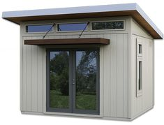 Pool Shed, Backyard Sheds, Backyard Landscaping, Backyard Storage, Backyard Patio, Shed Office, Backyard Office, Outdoor Office, Wood Shed Kits