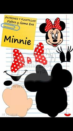 Minnie mouse kalip                                                                                                                                                                                 Mais
