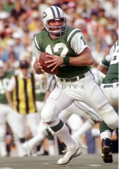 Jets Football, College Football, Jet Fan, Joe Namath, New York Jets, Childhood Memories, Nfl, Baseball, Retro
