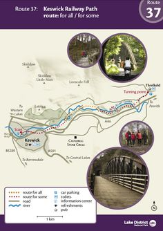 Keswick railway path