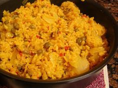 The Cutest Little House in Town: Arroz con Gandules