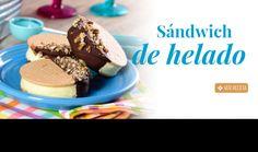 Sándwich de helado