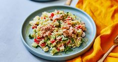 Cooking Together, Pasta Salad, Healthy Lifestyle, Grains, Rice, Ethnic Recipes, Food, Salad, Cilantro