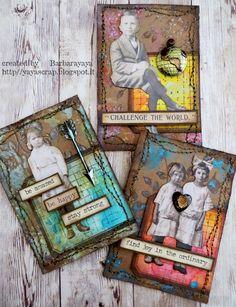Simon Says: Artist Trading Card (ATC) - Simon Monday Challenge Blog