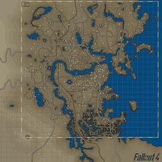 Color Map 4K 2K with Bobblehead and Armor Locations at Fallout 4 Nexus - Mods and community