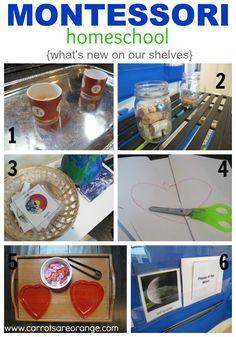 Preschool Homeschool What's New in our classroom