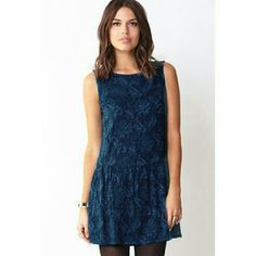 ^^Super Sale^^ Forever 21 Lace Drop Waist Dress